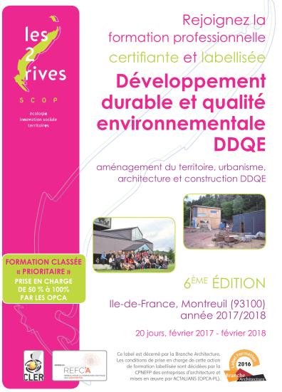 formation d u00e9veloppement durable et qualit u00e9 environnementale montreuil